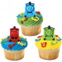 3D Thomas & Friends Cupcake Rings