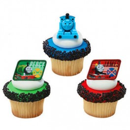 Thomas & Friends Cupcake Rings 2