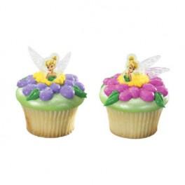 Disney Tinkerbell Cupcake Rings