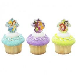 Disney Princess Garden Cupcake Pics