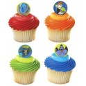 Ben 10 Superhero Aliens Cupcake Rings
