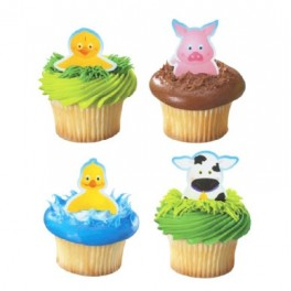 Barnyard Finger Puppets Cupcake Pics