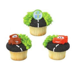 Disney Cars World Grand Prix Cupcake Rings