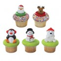 Christmas Cupcake Rings