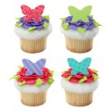 Butterfly Cupcake Rings