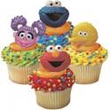 Sesame Street Cupcake Rings