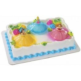 Disney Princess Light-Up Cake