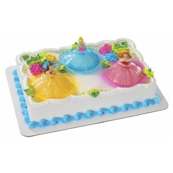 Disney Princess Light Up Cake