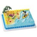 Mickey & Minnie Surfers Cake