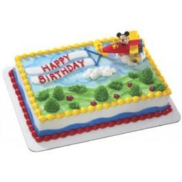 Mickey Airplane Cake