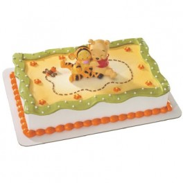 Baby Pooh With Tigger Cake