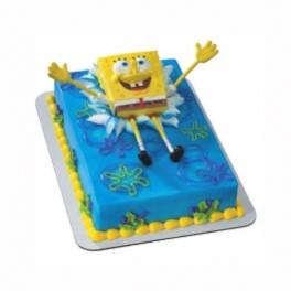 SpongeBob Bendy Cake