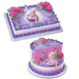 Barbie Perennial Ballerina Cake