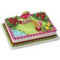 Strawberry Shortcake Cafe Cake