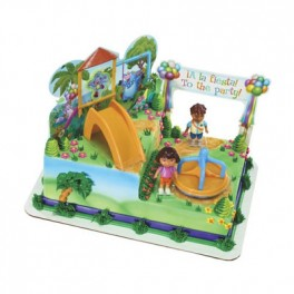 Dora Playtime Signature Cake