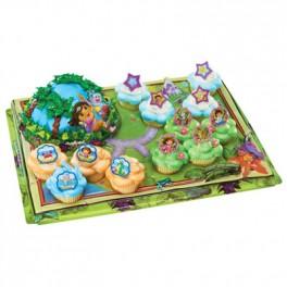Dora Adventure Signature Cupcake Platter