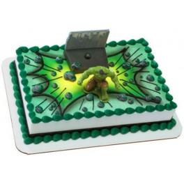 Avengers Hulk Cake