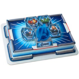 Avengers Assemble Light Up Cake