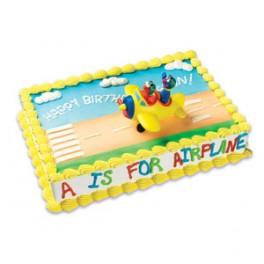 Sesame Street Elmo & Grover Airplane Cake