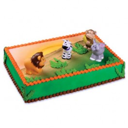 Zoo Animals Topper