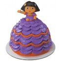 Dora Fiesta Dress Petite Topper