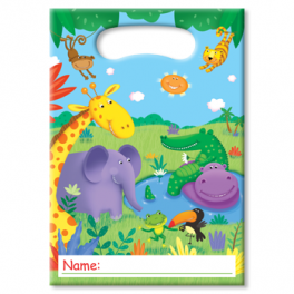 Jungle Buddies Animal Treat Bags
