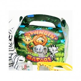 Safari Animal Treat Boxes