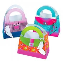 Girlie Treat Bags with Shoe Tag