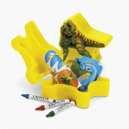 Dinosaur-Shaped Goodie Box
