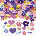 Self-Adhesive Princess Foam Shapes