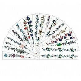 Colored Bracelet Sticker Set