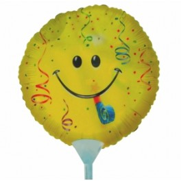 "9"" Smiley Party Air-Filled Balloon"