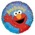 "9"" Elmo Birthday Air-Filled Balloon"