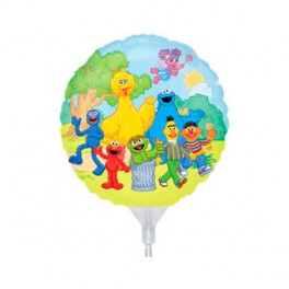 "9"" Sesame Street Air-Filled Balloon"
