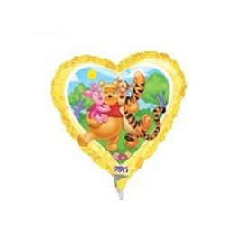 "9"" Pooh & Friends Air-Filled Balloon"