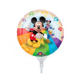 "9"" Mickey & Friends Air-Filled Balloon"
