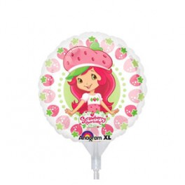 "9"" Strawberry Shortcake Air-Filled Balloon"