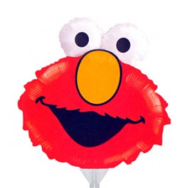 "14"" Elmo Head Air-Filled Balloon"