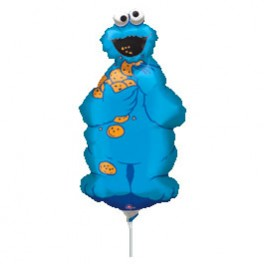 """14"""" Cookie Monster Air-Filled Balloon"""