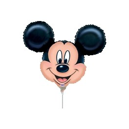 "14"" Mickey Head Air-Filled Balloon"