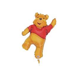 "14"" Pooh Shape Air-Filled Balloon"