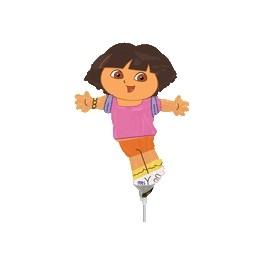 "14"" Dora Shape Air-Filled Balloon"