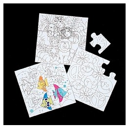 Color-Your-Own Puzzles
