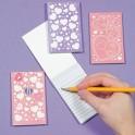 Pastel Felt Notepads