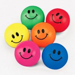 Smiley Bouncing Balls