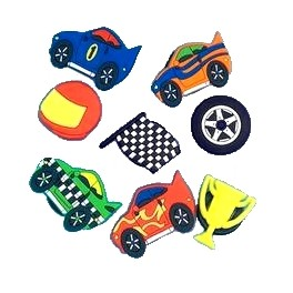 F1 Racing Buttons