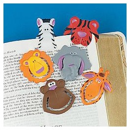 Animal Bookmark Clips