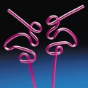 Flamingo Loop Straws