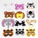 Animal Foam Masks
