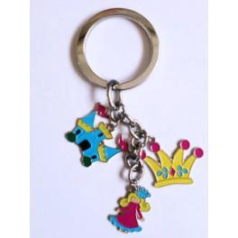 Princess Charm Keychain